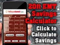 Wheatland EMT Savings Calculator